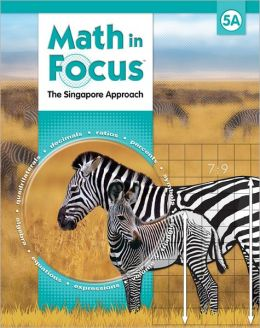 Houghton Mifflin Harcourt Math in Focus Student Pack Grade 5