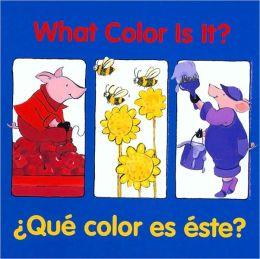 What Color Is It? / Qué color es éste?