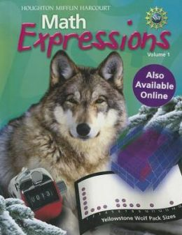 Math Expressions: Student Activity Book Hardcover Volume 1 Grade 6 2012