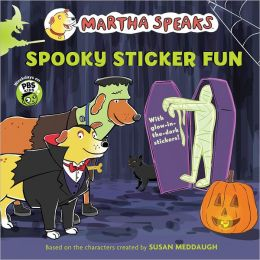 Martha Speaks: Spooky Sticker Fun