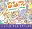 Book Cover Image. Title: Five Little Monkeys Jumping on the Bed, Author: Eileen Christelow