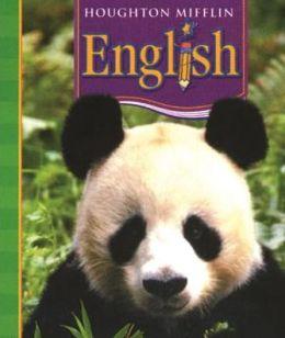 HMH Language Arts: Houghton Mifflin English Homeschool Package Grade 1