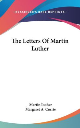 Letters of Martin Luther