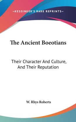 The Ancient Boeotians