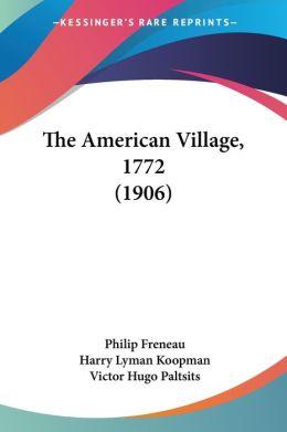 American Village 1772