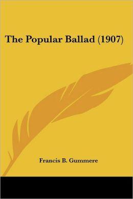 The Popular Ballad (1907)