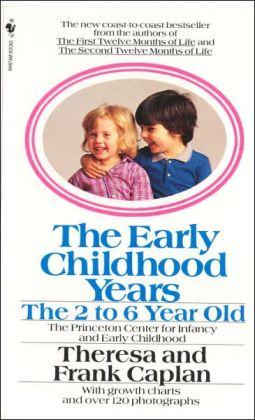 Early Childhood Years: The 2 to 6 Year Old