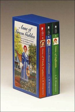 Anne of Green Gables Boxed Set: (Anne of Ingleside, Anne's House of Dreams, Anne of Windy Poplars)