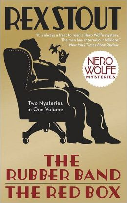 The Rubber Band/The Red Box (Nero Wolfe Series)