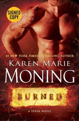 Burned (Fever Series #7) (Signed Book)