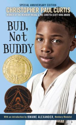 christopher paul curtis s bud not buddy Christopher paul curtis masterfully writes about such complex issues as homelessness, poverty, racism, cruelty and poverty living in a cardboard hooverville community for a few days, bud meets likable, down and out characters.