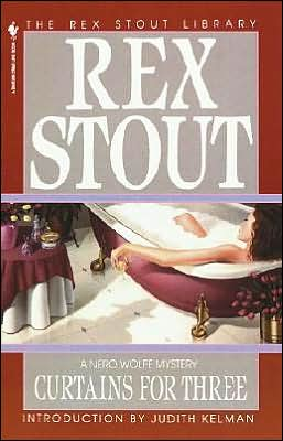Curtains for Three (Nero Wolfe Series)