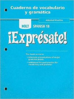 Expresate! : Spanish 1b - Workbook