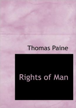 Rights Of Man (Large Print Edition)