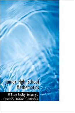 Junior Hgh School Mathematics