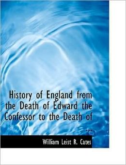 History Of England From The Death Of Edward The Confessor To The Death Of ... (Large Print Edition)
