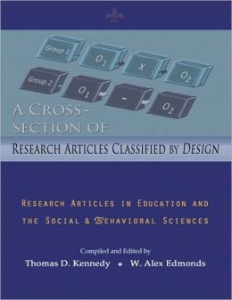 A Cross Section of Research Articles Classified by Design