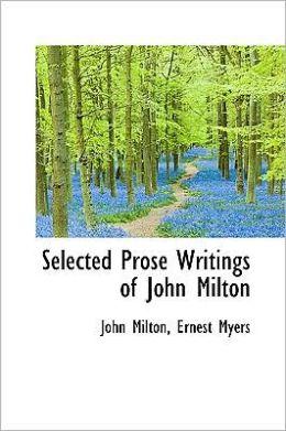 Selected Prose Writings of John Milton