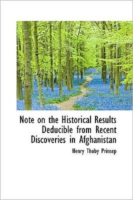 Note on the Historical Results Deducible from Recent Discoveries in Afghanistan