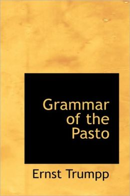 Grammar Of The Pasto