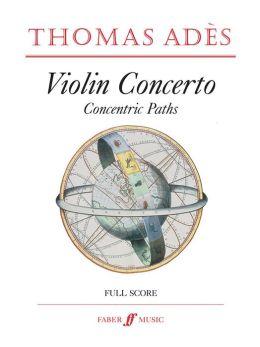 Violin Concerto: Concentric Paths, Score
