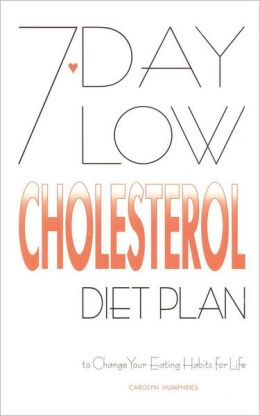 7-Day Low Cholesterol Diet Plan