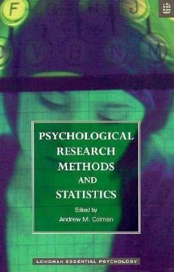 Psychological Research Methods and Statistics