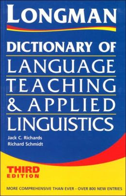 Dictionary of Teaching and Applied Linguistics