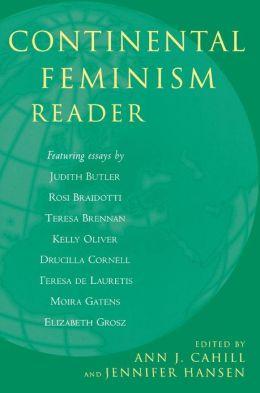 Continental Feminism Reader