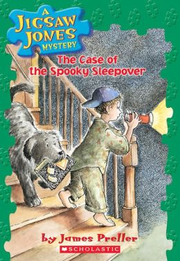 The Case of the Spooky Sleepover (Jigsaw Jones Series #4)