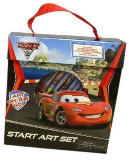 Disney Cars 2 Start Art Set