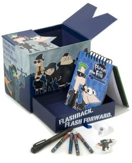 Phineas and Ferb Super Secret Desk Set