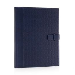 Jonathan Adler Meadow Mosaic Navy Writing Folio (8.5x11)