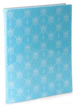 English Blue Vine PVC Presentation Book