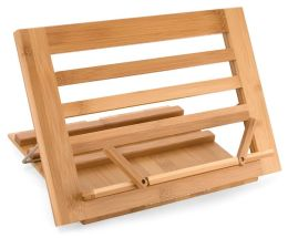 Bamboo Cookbook Stand