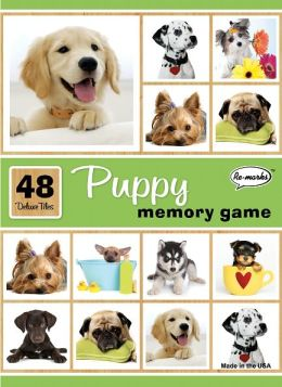 Remarks Memory Game Puppy 2