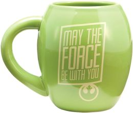 Star Wars Yoda Oval Mug
