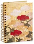 Product Image. Title: Japanese Poppies Spiral Lined Journal (6x8.5)