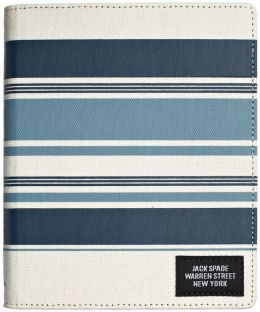 Jack Spade Stripes Cover in Grey
