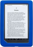 Product Image. Title: Silicone Frame in Cobalt for NOOK Color and NOOK Tablet