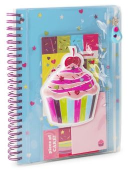 Puffy Cupcake Lined Journal (6 x 8)