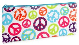 Peace Pencil Pouch (4 x 9)