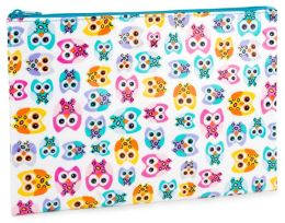 Owls Accessory Pouch ( 7 x 10)