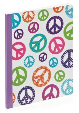 Peace Lined Composition Book (7.5