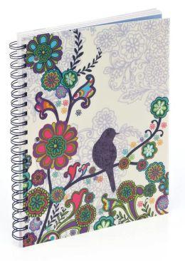 Boho Bird 3-Subject Notebook (8.5