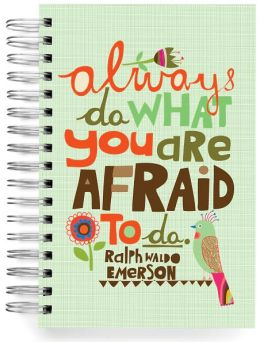 100% Recycled Always Do Quote Lined Spiral Journal 6x9