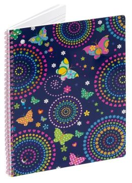 Magic Wings Lined Theme Book (8x10.5)