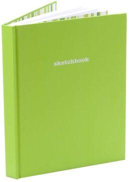 Lime Green Sketchbook 8