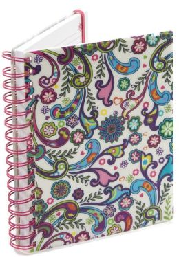 Boho Floral Pearl Lined Journal (6x8)