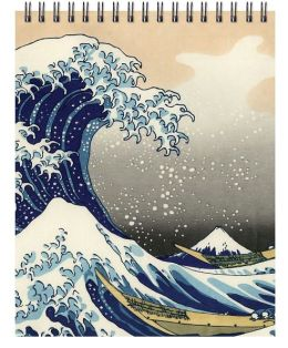 Flexi Journal - Hokusai Wave - Lined both Sides